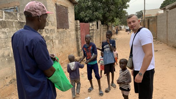 Dorf in Gambia